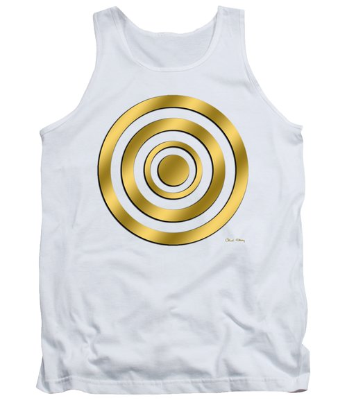 Gold Circles Tank Top