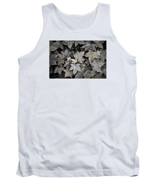 Gold Copper And Silver Leaves 1 Tank Top