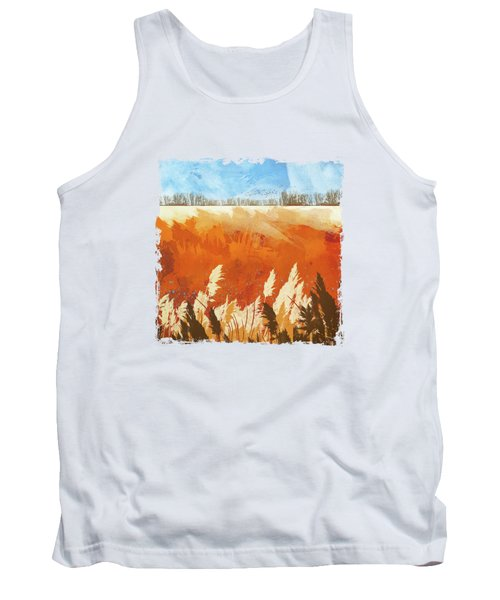 Golden Afternoon Tank Top