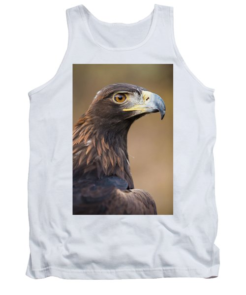 Tank Top featuring the photograph Golden Eagle by Wesley Aston