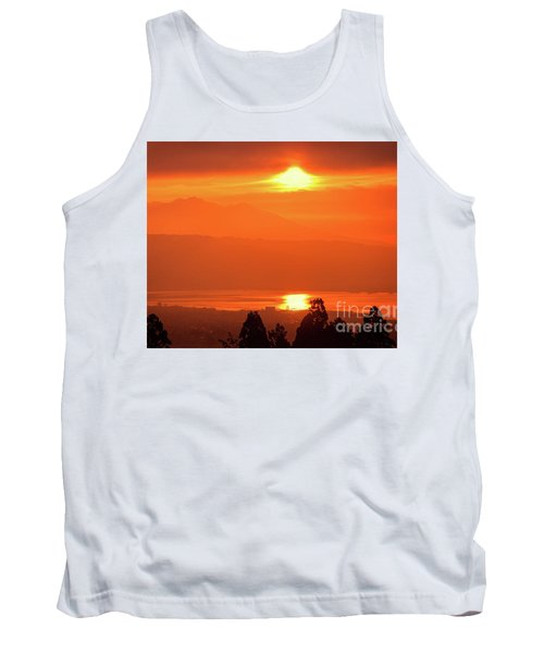 Tank Top featuring the photograph Golden Hour by Tatsuya Atarashi