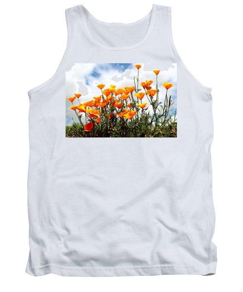 Golden Poppies Tank Top