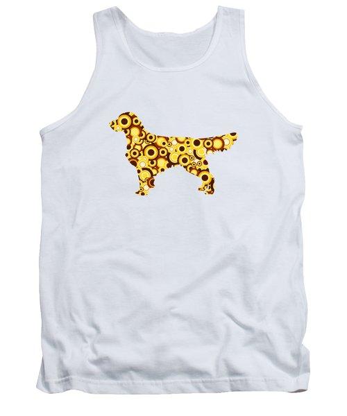 Golden Retriever - Animal Art Tank Top