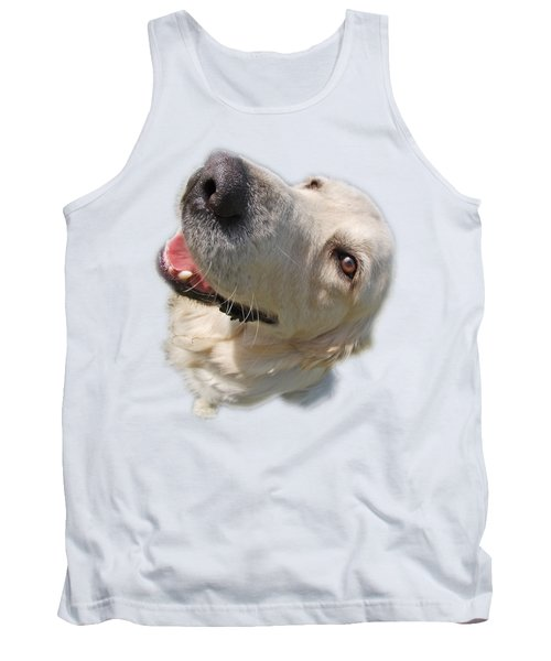 Tank Top featuring the photograph Golden Retriever by George Atsametakis