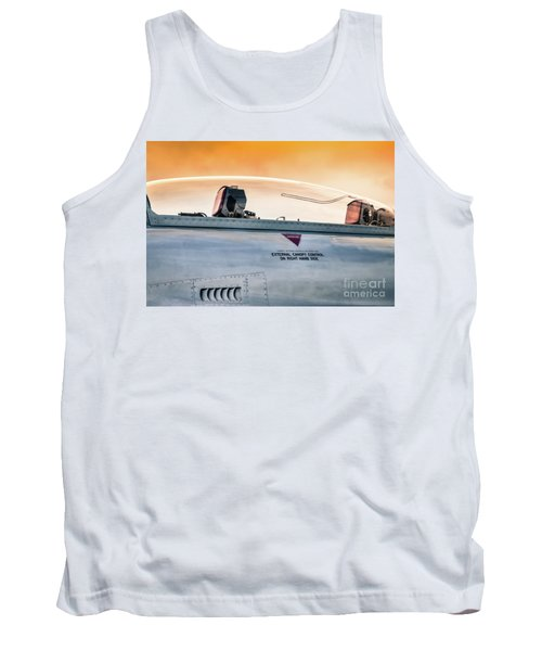 Golden Sky Tank Top by Lawrence Burry