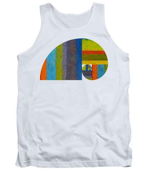 Golden Spiral Study Tank Top by Michelle Calkins