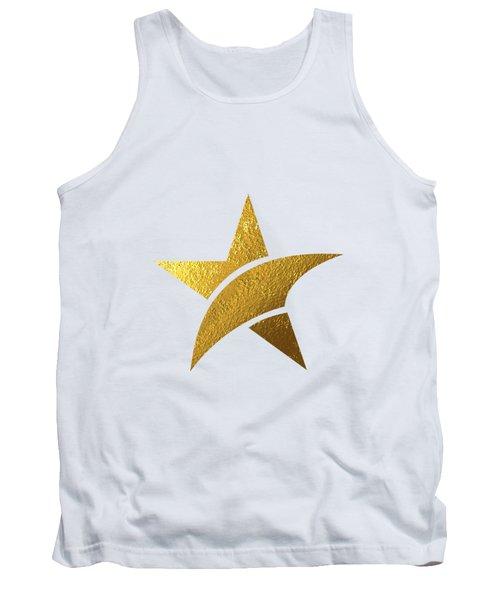 Golden Star Tank Top by BONB Creative