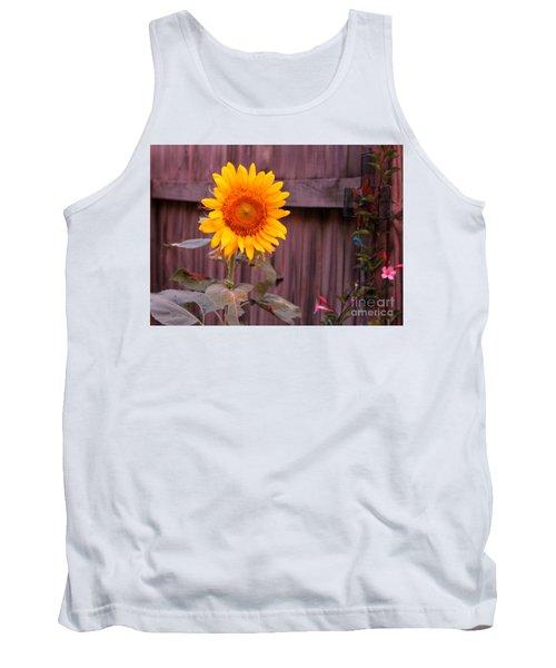 Golden Sunflower Tank Top