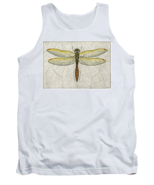 Golden Winged Skimmer Tank Top
