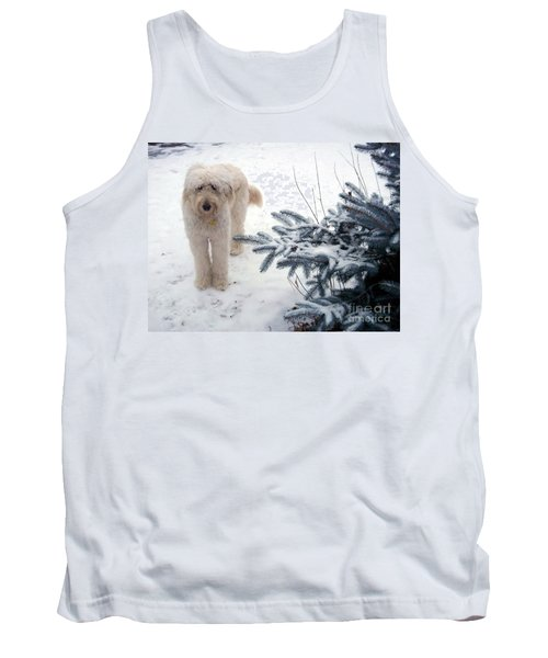 Goldendoodle Tank Top