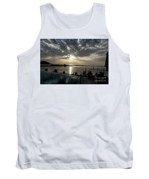 Tank Top featuring the photograph Good Morning Vacation by Arik Baltinester