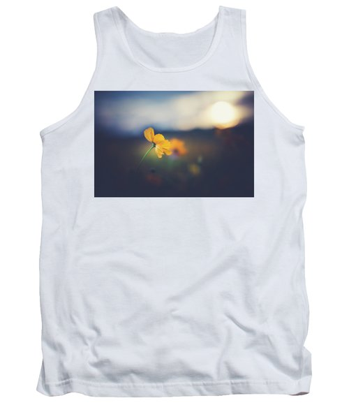 Tank Top featuring the photograph Goodnight Sun by Shane Holsclaw
