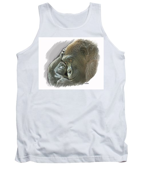 Gorilla Mother Tank Top