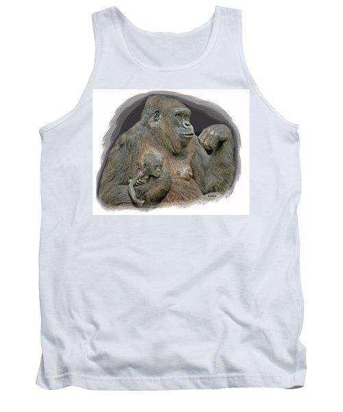 Gorilla Motherhood Tank Top