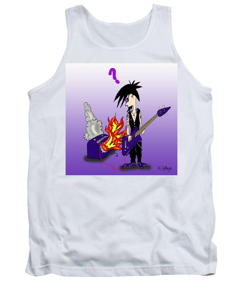 Goth To A Flame Tank Top