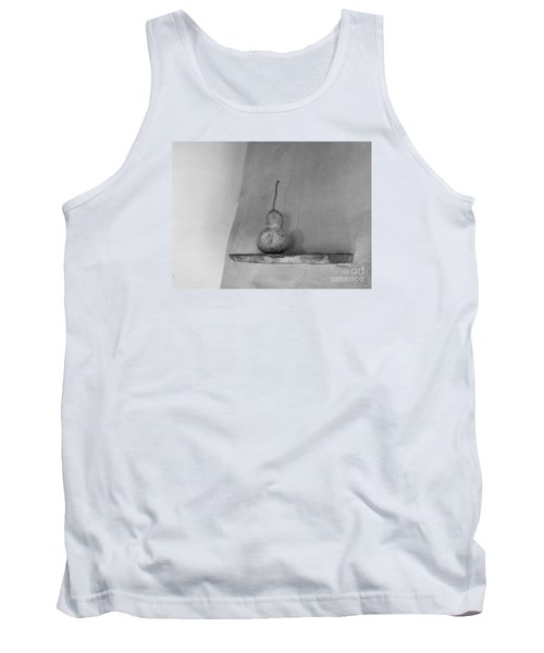 Tank Top featuring the photograph Gourd Black And White by Jeanette French