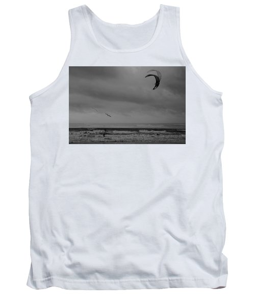 Grainy Wind Surf Tank Top