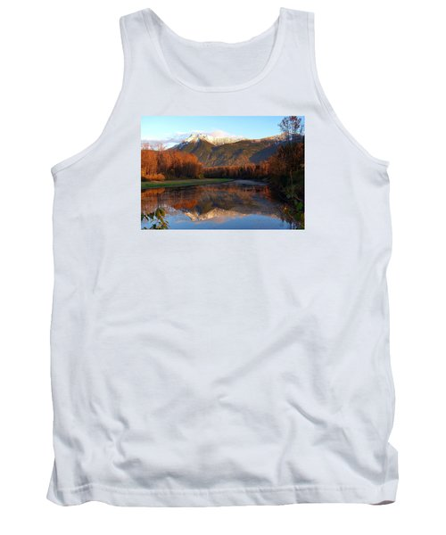 Mount Cheam, British Columbia Tank Top by Heather Vopni