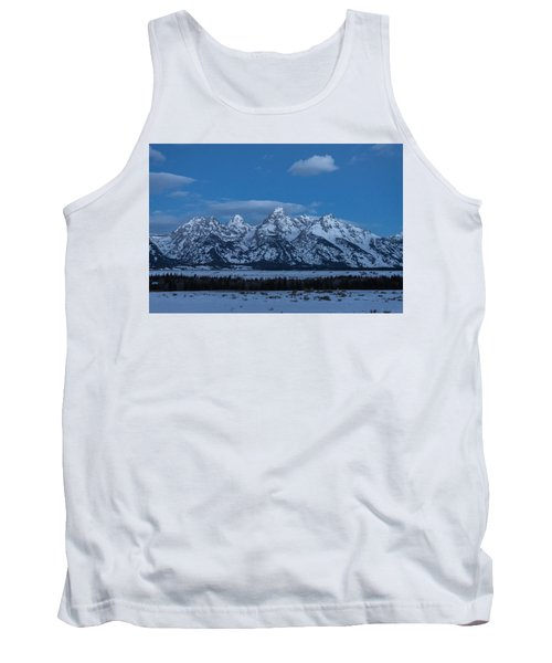 Grand Teton National Park Sunrise Tank Top by Serge Skiba