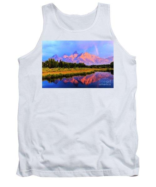 Grand Teton Sunrise Tank Top
