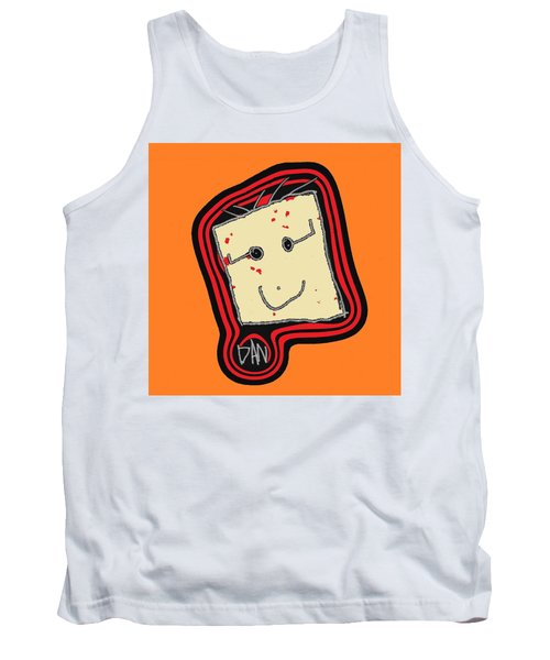 Tank Top featuring the mixed media Grandpa 3 by Andrew Drozdowicz