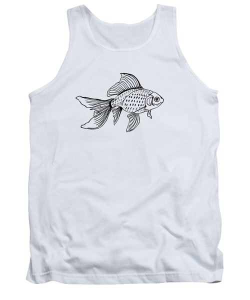 Graphic Fish Tank Top