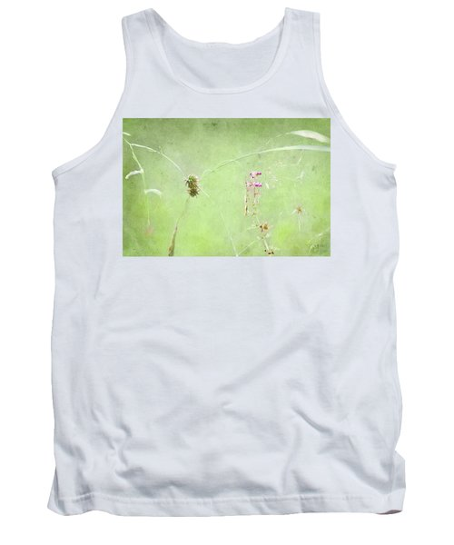 Grasses And Blooms Tank Top