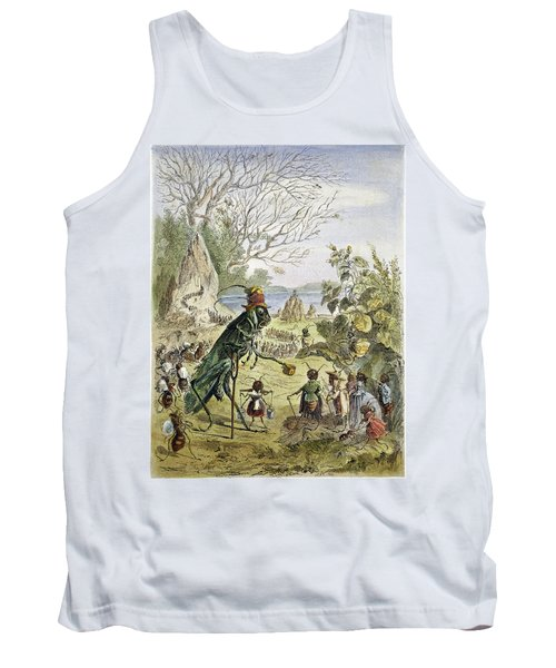 Grasshopper And Ant Tank Top by Granger