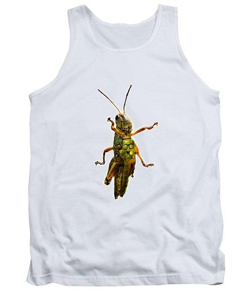 Grasshopper II Tank Top by Gary Adkins