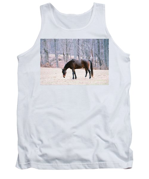 Tank Top featuring the photograph Grazing by Polly Peacock