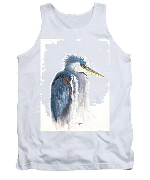 Great Blue Heron Tank Top