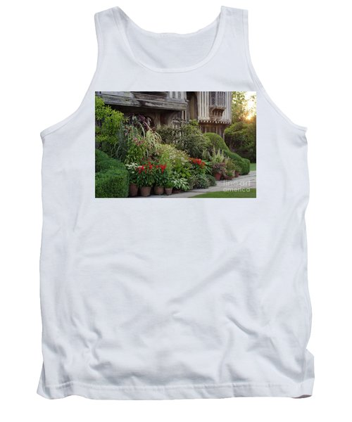 Great Dixter House And Gardens At Sunset 2 Tank Top