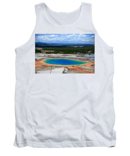 Great Prismatic Spring   Tank Top