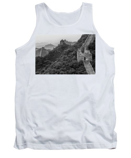 Tank Top featuring the photograph Great Wall 3, Jinshanling, 2016 by Hitendra SINKAR
