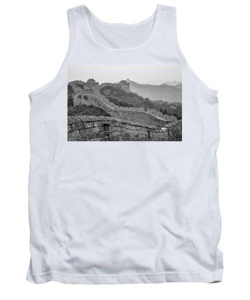 Tank Top featuring the photograph Great Wall 7, Jinshanling, 2016 by Hitendra SINKAR