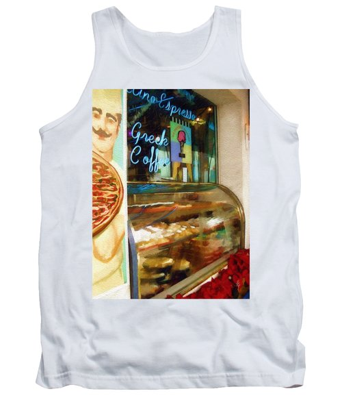 Greek Coffee Tank Top