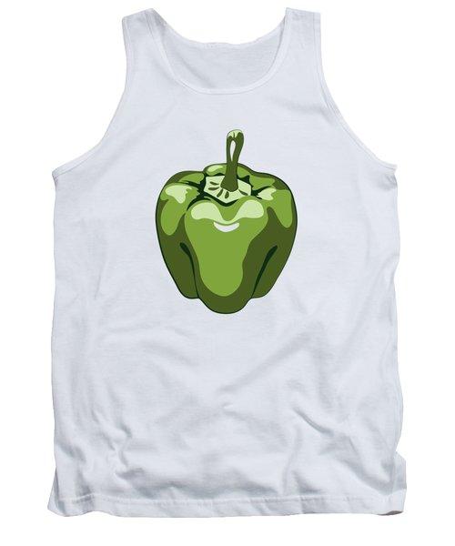 Green Bell Pepper Tank Top