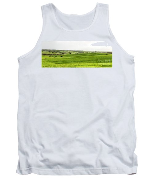 Green Fields. Tank Top