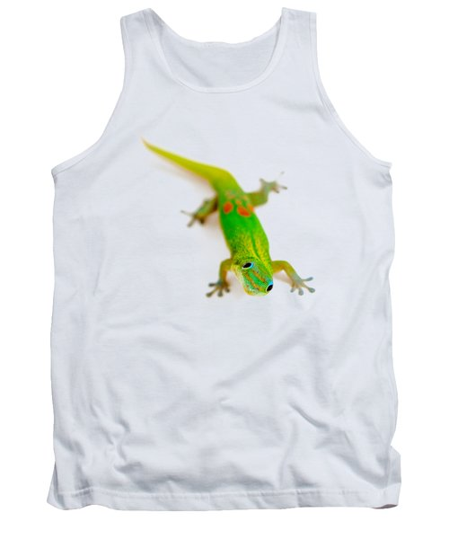 Green Gecko Tank Top