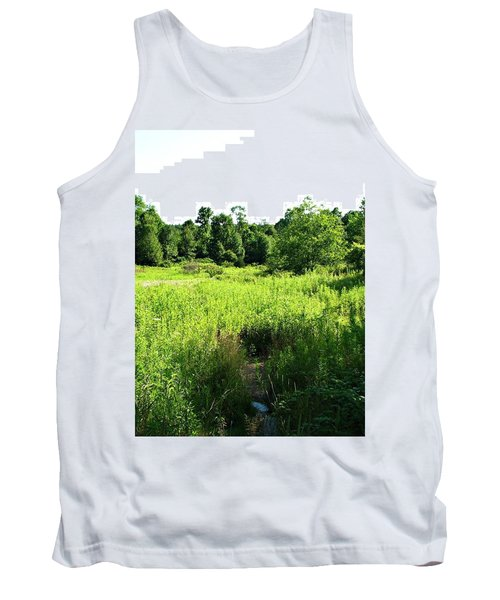 Green Meadow Tank Top