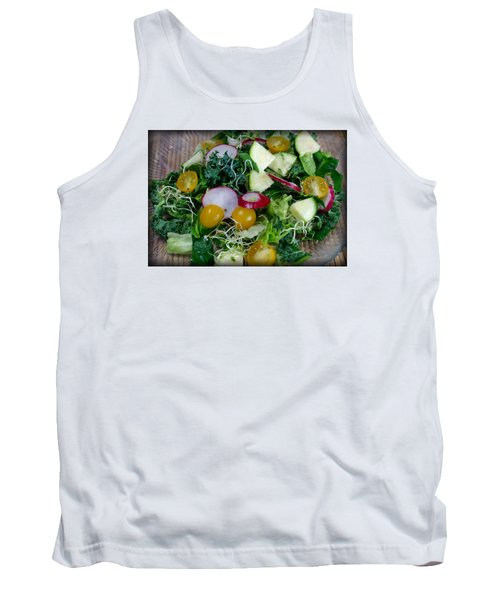 Tank Top featuring the photograph Green Salad by Adria Trail