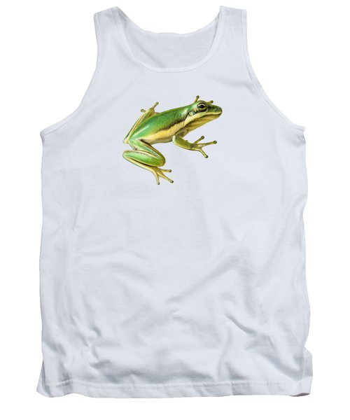 Green Tree Frog Tank Top