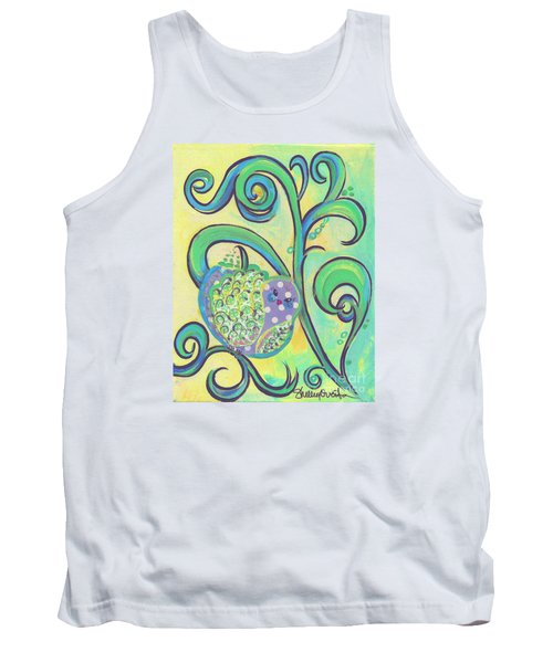 Greenbriar Birdy Tank Top by Shelley Overton