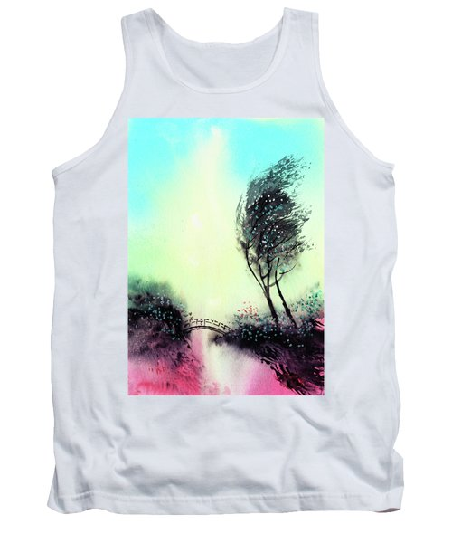 Tank Top featuring the painting Greeting 1 by Anil Nene
