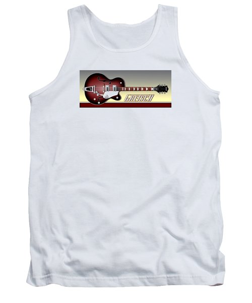 Gretsch Guitar Tank Top by Anthony Citro
