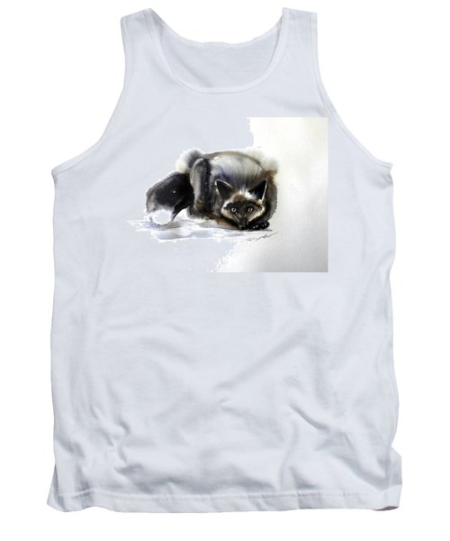 Grey Fox 1 Tank Top