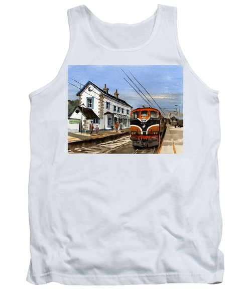 Greystones Railway Station Wicklow Tank Top
