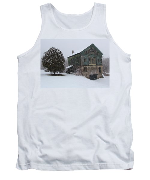Grist Mill Of Port Hope Tank Top by Davandra Cribbie