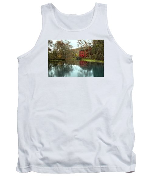 Grist Mill Wreflections Tank Top