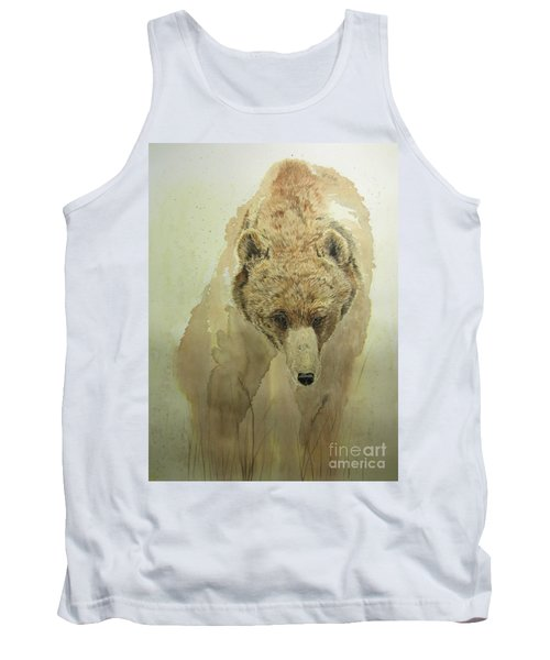 Grizzly Bear1 Tank Top by Laurianna Taylor
